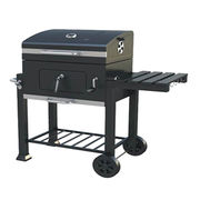 Powder-coated charcoal barbecue grill from China (mainland)