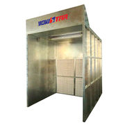 High quality open front paint booth Manufacturer