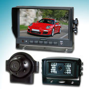 China Vehicle Camera System with 7-inch Digital LCD Monitor, Rear-view Cameras and 6W Power Consumption