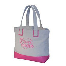 Canvas shopping tote bag from China (mainland)