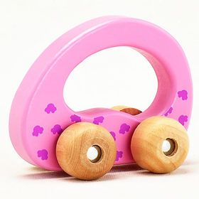 2015 new model car wheels children's wooden toy from China (mainland)