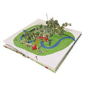 Pop-up Book, Customized Trimmed Sizes are Accepted
