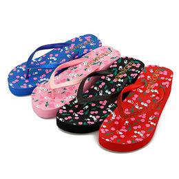 Women's Wedge Flip Flops from China (mainland)