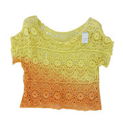 Gradient Color Embroidered Lace, Made of Cotton, Suitable for Beach