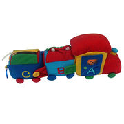 "15"" plush train from China (mainland)"