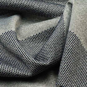 100% Poly 2-Tone Pique Auto Stripe Jersey Fabric from Taiwan
