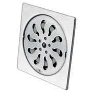 Matte stainless steel square floor drain from China (mainland)