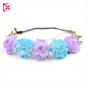 Wholesale Women Girl Leather Leaves Braided Floral Headband, Women Girl Leather Leaves Braided Floral Headband Wholesalers