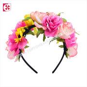 Wholesale Women Girl Floral Headband Crown Wedding Beach Hai, Women Girl Floral Headband Crown Wedding Beach Hai Wholesalers