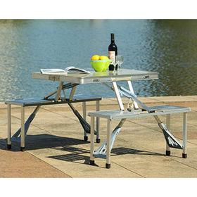 Aluminium folding picnic table from China (mainland)