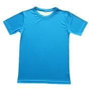 Sublimated round neck T-shirts from China (mainland)
