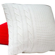 knitted cotton cushion cover from China (mainland)