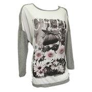 Women's novelty T-shirt from China (mainland)
