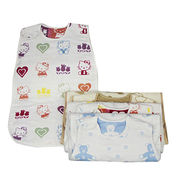 Hong Kong SAR Baby sleeping bags,lovely colorful broadened thickening envelope cotton outdoor for baby sleeping