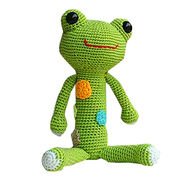 Knitting frog from China (mainland)
