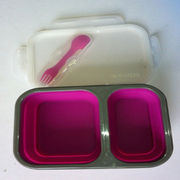 Silicone lunch box from China (mainland)