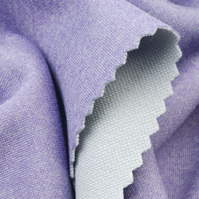 4-Way Stretch Fabric in Heather Interlock Pique, with Wicking