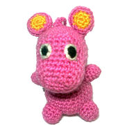 Knitted hippo from China (mainland)