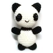 Knitted panda from China (mainland)