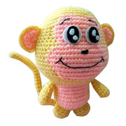 Knitted monkey from China (mainland)
