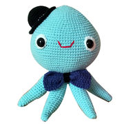 Knitted octopus from China (mainland)