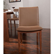 Wooden frame PU leather Dining Chair from China (mainland)