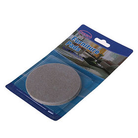 2pcs Heavy Duty Furniture Felt Pad 84*84MM from China (mainland)