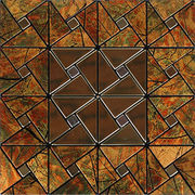 Interior decorative aluminum mosaic panels from China (mainland)