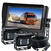 Car Backup System with Waterproof IP69K Rating and Anti-fog Rearview Camera from Veise Electronics Co. Ltd