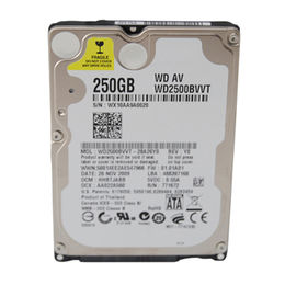 High speed 2.5 sata hard drive 250gb for laptop,2.5inch SATA PORT 5400rpm Rotate speed,tested