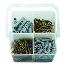 220Pcs Screw&Anchor assortment set plastic box pac from China (mainland)