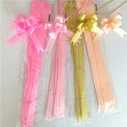 colorful wedding decoration plastic pull ribbon bu from China (mainland)