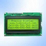Dot-matrix LCD Module with STN Yellow Green 20 x 4 with LED Backlight