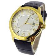 Men's classic slim wrist watch from Hong Kong SAR