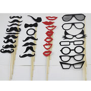 Arts and Crafts Glasses Photo Magnetic Booth Props Party Funny Mask