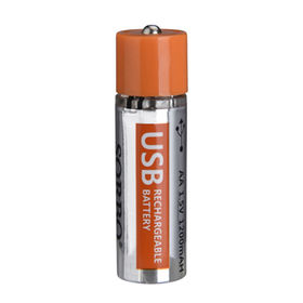 USB Rechargeable Lithium Battery can from China (mainland)
