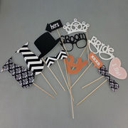 Arts and Crafts Glasses, Photo Magnetic Booth Props, Party Funny Mask