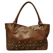 Studs PU handle bag from China (mainland)