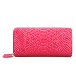 High Quality Long pink Luxury Leopard Purse from China (mainland)