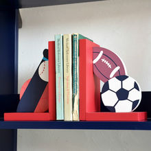 Wooden ball bookend from China (mainland)