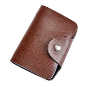 2017 new design men's leather credit card case from China (mainland)