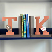 China 2015 brand new cute wooden letters bookend