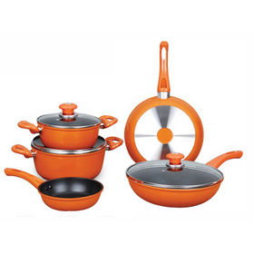 Aluminum cookware set, ceramic coating