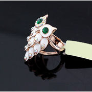Chic Owl Shaped Enamel Rings from China (mainland)