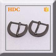 Fashion general new design gun metal buckle from China (mainland)
