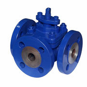 China 3-way Sleeved Plug Valve with Packing