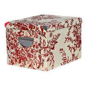 China Cardboard folding storage box