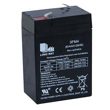China 6V/4.5Ah Rechargeable Lead-acid Battery