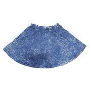 Ladies' knitted denim skirt from China (mainland)