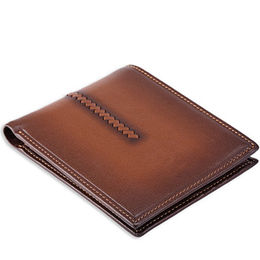 New product brown vintage fold man purse from China (mainland)